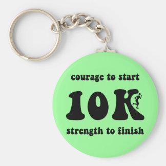 Inspirational 10K Key Chain