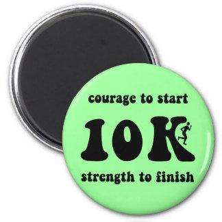 Inspirational 10K Magnet