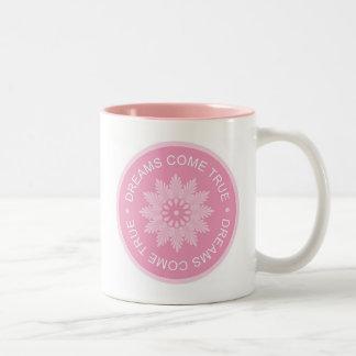 Inspirational 3 Word Quotes ~Dreams Come True~ Coffee Mug