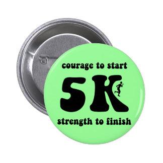 Inspirational 5K 2 Inch Round Button