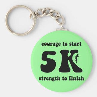 Inspirational 5K Key Chain
