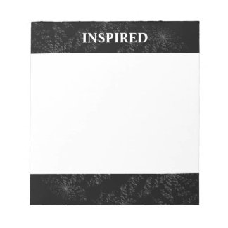 Inspirational Abstract Business Note Pad