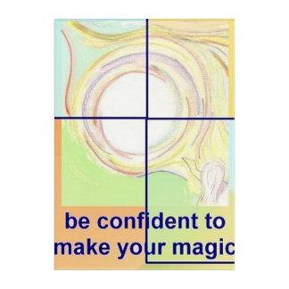 Inspirational Acrylic Wall Art for Confidence