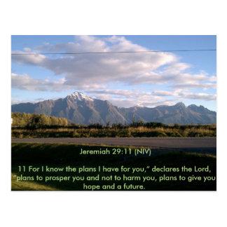 Inspirational Alaska Postcard
