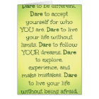 Inspirational and Motivational Greetings Card