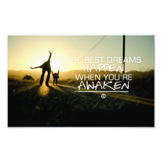 Inspirational and motivational quotes art photo