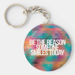 Inspirational and motivational quotes basic round button keychain