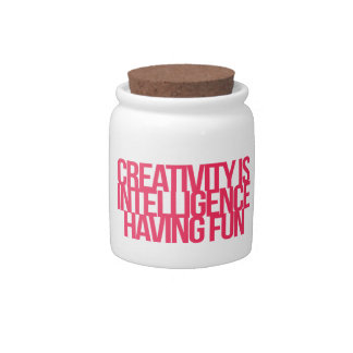 Inspirational and motivational quotes candy jar