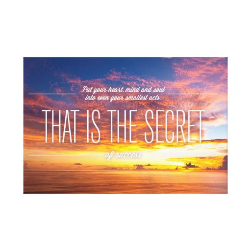 inspirational and motivational quotes canvas print zazzle