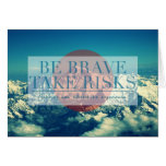 Inspirational and motivational quotes greeting cards