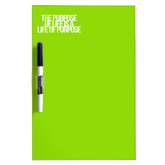 Inspirational and motivational quotes Dry-Erase whiteboards