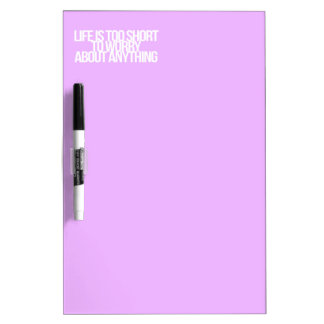 Inspirational and motivational quotes dry erase boards