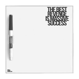 Inspirational and motivational quotes dry erase whiteboard
