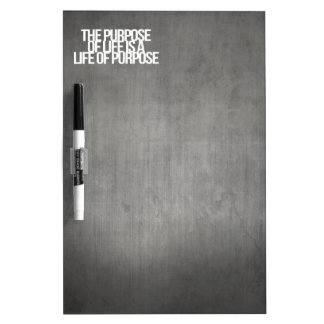 Inspirational and motivational quotes Dry-Erase whiteboard