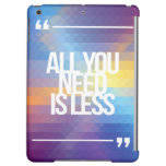 Inspirational and motivational quotes cover for iPad air