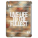 Inspirational and motivational quotes case for iPad air