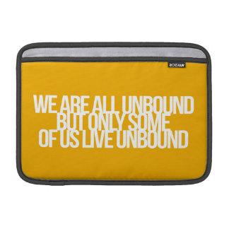 Inspirational and motivational quotes MacBook air sleeves