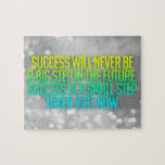 "Inspirational and motivational quotes jigsaw puzzle<br><div class=""desc"">Beautiful and modern design of inspirational and motivational quote "" Success will never be a big step in future. Success is a small step taken just now &quot;. True life words of inspiration wisdom and motivation for any occasion. Great as a self-reminder or as a gift to a friend. Want...</div>"