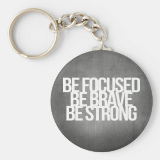 Inspirational and motivational quotes key chain