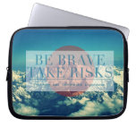 Inspirational and motivational quotes laptop computer sleeves