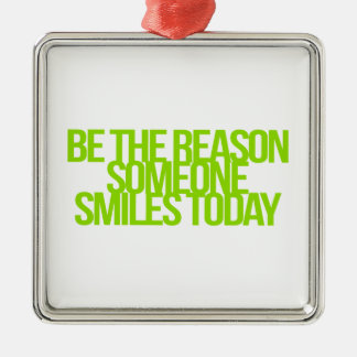 Inspirational and motivational quotes metal ornament