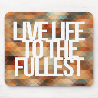 Inspirational and motivational quotes mouse pad