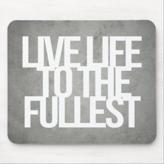 Inspirational and motivational quotes mousepad