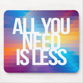 Inspirational and motivational quotes mousepads