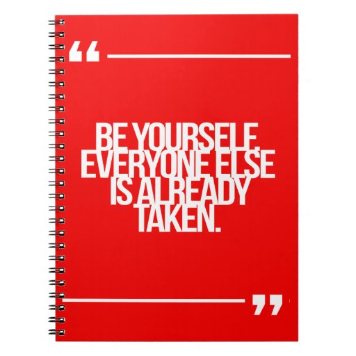 Inspirational and motivational quotes note book