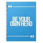 Inspirational and motivational quotes spiral notebook