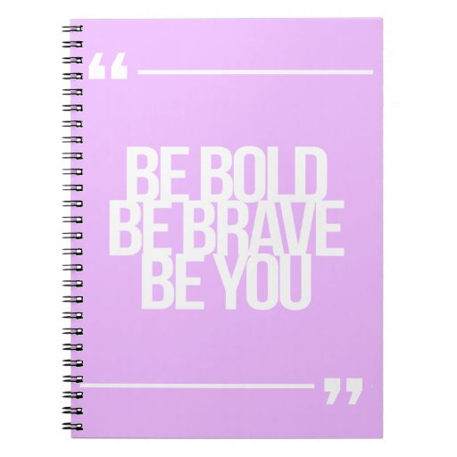 Inspirational and motivational quotes spiral note books