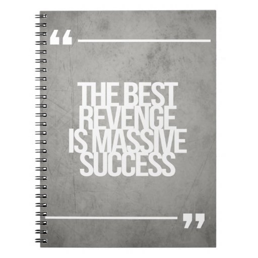 Inspirational and motivational quotes spiral note book