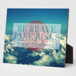 Inspirational and motivational quotes photo plaques