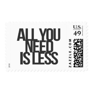 Inspirational and motivational quotes postage stamp