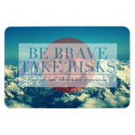 Inspirational and motivational quotes rectangular magnets
