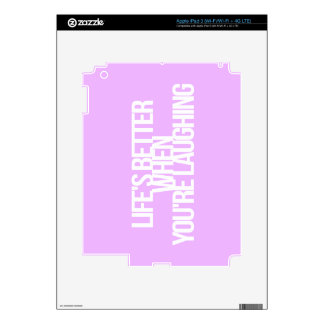 Inspirational and motivational quotes skin for iPad 3