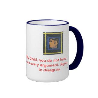 Inspirational and Spiritual awareness. Ringer Mug