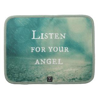 Inspirational Angel Quote Organizer