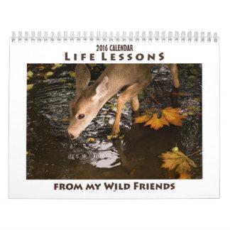 Inspirational Animal Calendar 2016