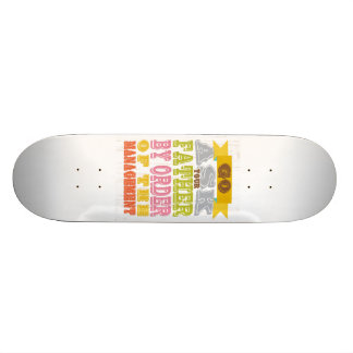 Inspirational Art - Ask Your Father Skate Board Deck