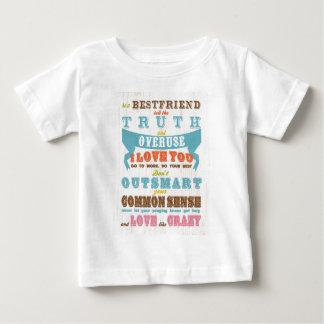 Inspirational Art - Be a Best Friend. Baby T-Shirt