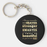 Inspirational Art -Dr Quote Keychain