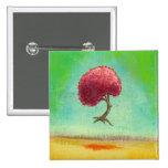 Inspirational art fun modern painting hopeful tree pins