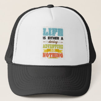 Inspirational Art - Helen Keller Trucker Hat