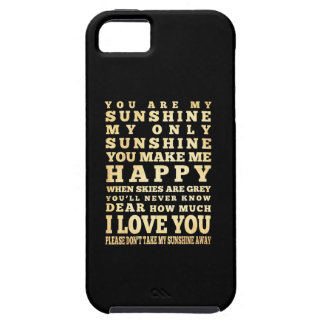 Inspirational Art - I Love You iPhone SE/5/5s Case