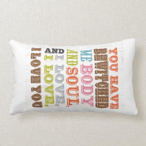 Inspirational Art - I Love You. Pillow
