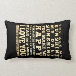 Inspirational Art - I Love You Pillows