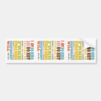 Inspirational Art - Jane Eyre Bumper Sticker