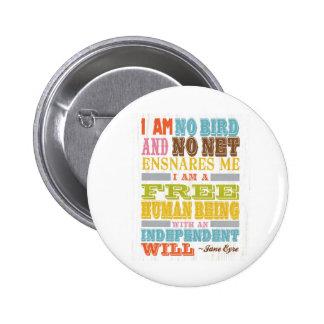 Inspirational Art - Jane Eyre Button