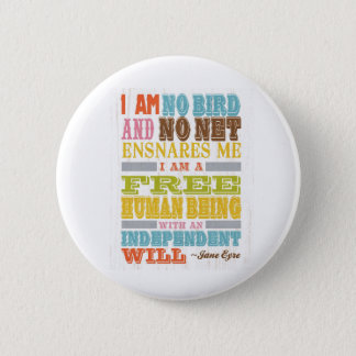 Inspirational Art - Jane Eyre Pinback Button